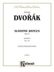 Slavonic Dances, Opus 46, Volume II