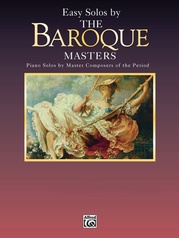 Masters Series: Easy Solos by the Baroque Masters