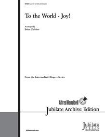 To the World---Joy!