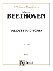 Various Piano Works, Including Complete Bagatelles