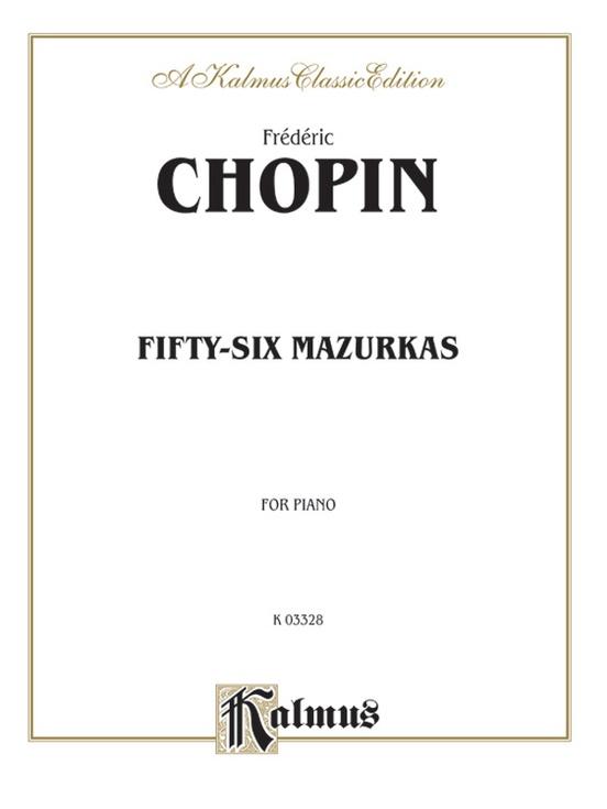 Fifty-Six Mazurkas