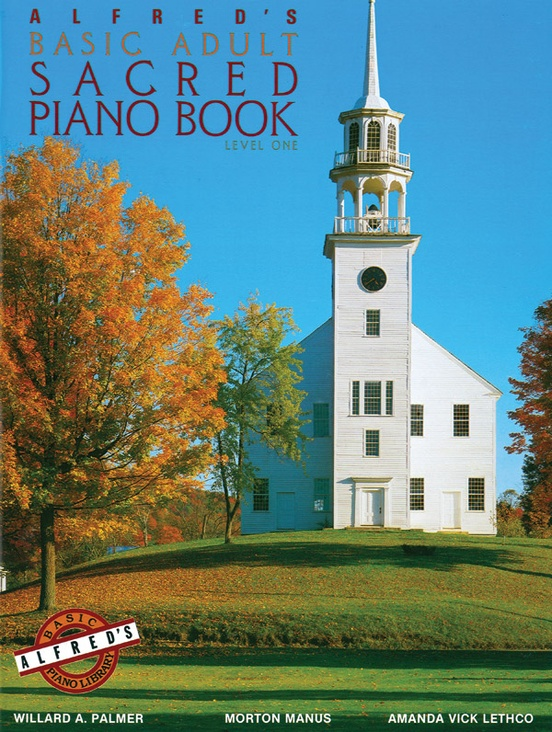 Alfred's Basic Adult Piano Course: Sacred Book 1