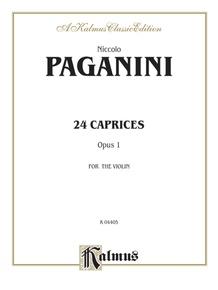Twenty-four Caprices, Opus 1