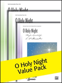 O Holy Night Sheet Solos (Value Pack)