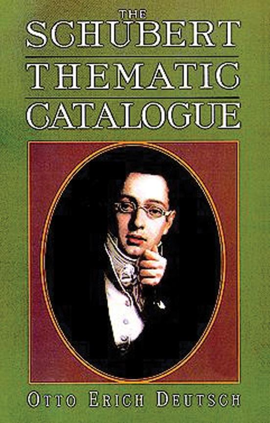 Schubert Thematic Catalog