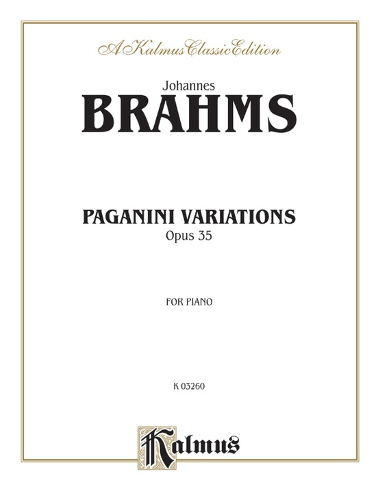 Paganini Variations (Complete)