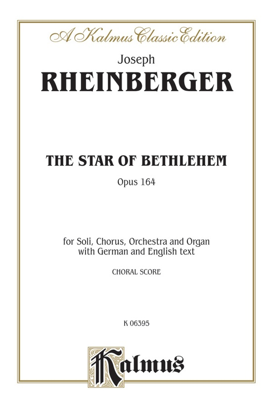 The star of bethlehem opus 164 satb or saattb with stbarb soli the star of bethlehem opus 164 fandeluxe Choice Image