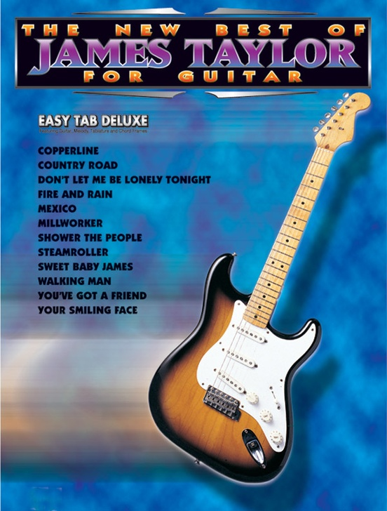 The New Best of James Taylor for Guitar