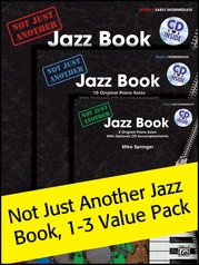 Not Just Another Jazz Book 1-3 (Value Pack)