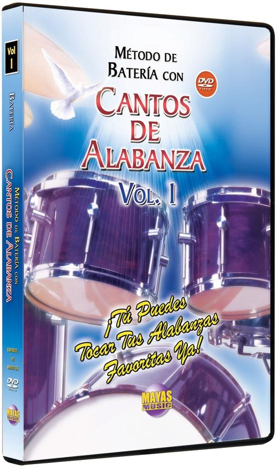 Método con Cantos de Alabanza: Batería Vol. 1