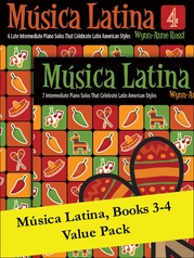 Música Latina Books 3-4 (Value Pack)