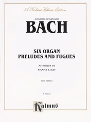 Six Organ Preludes and Fugues