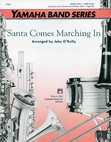 Santa Comes Marching In