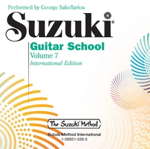 Suzuki Guitar School CD, Volume 7