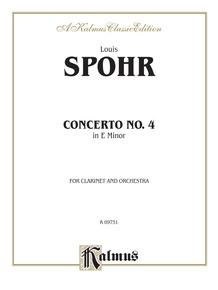 Clarinet Concerto No. 4 in A Minor