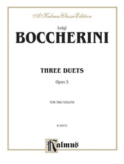 Three Duets, Opus 5