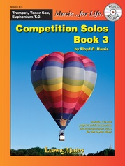 Competition Solos, Book 3 Trumpet, Tenor Sax or Euphonium TC