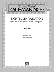 Eighteenth Variation (Rhapsodie on a Theme of Paganini)