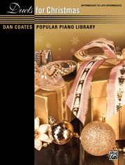 Dan Coates Popular Piano Library: Duets for Christmas