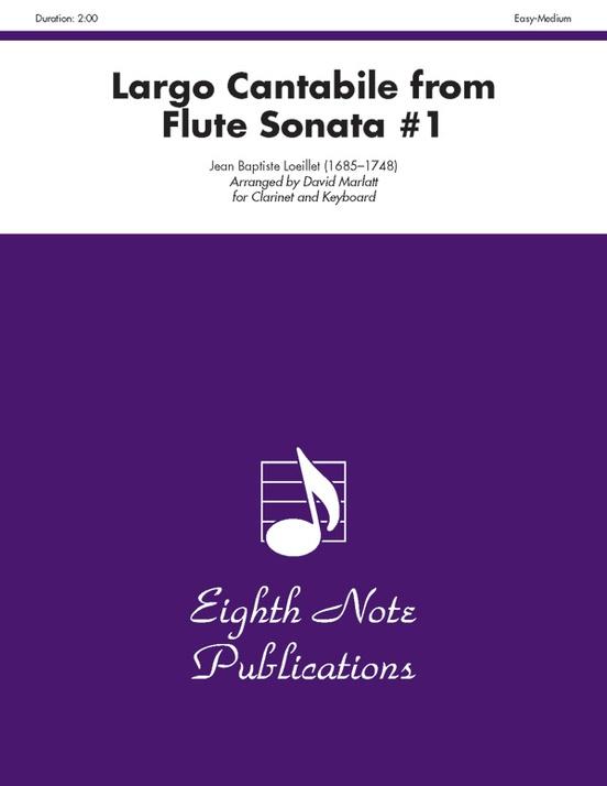Largo Cantabile (from Flute Sonata #1)
