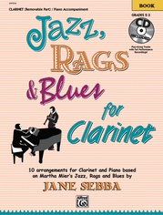 Jazz, Rags & Blues for Clarinet