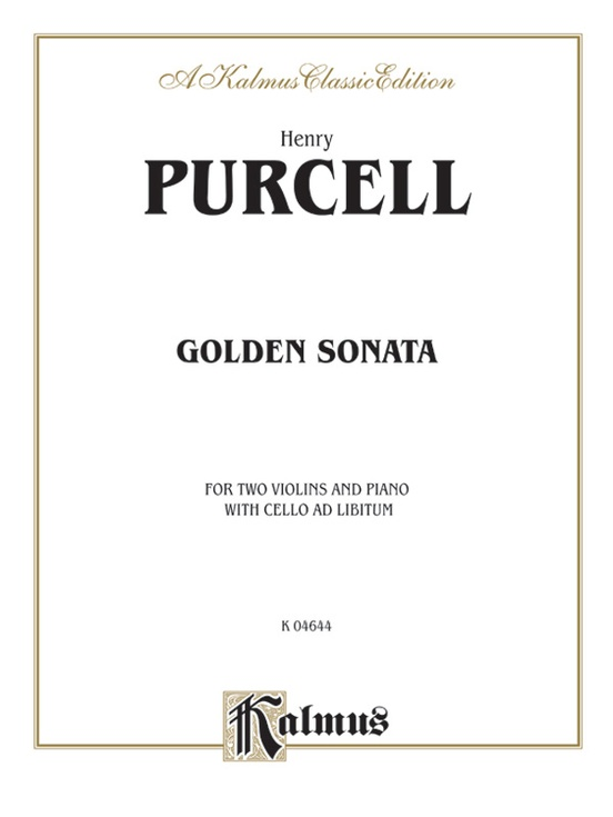 Sonata in B-flat Major, Opus 2, No. 11: For Two Violins and Piano: 0 (Kalmus Edition)