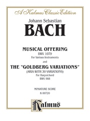 "The Musical Offering and The ""Goldberg Variations"""