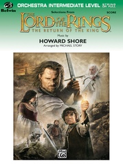 The Lord of the Rings: The Return of the King, Selections from