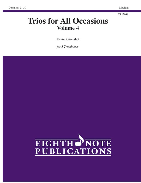 Trios for All Occasions, Volume 4