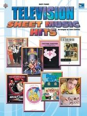 Television Sheet Music Hits