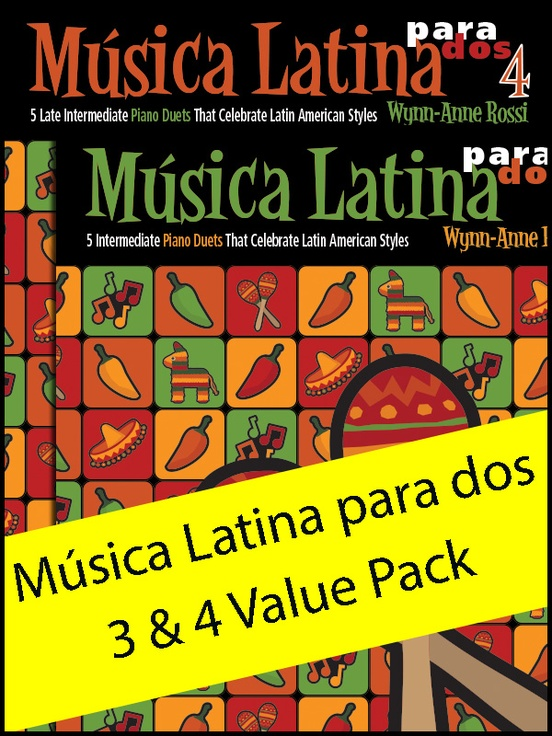 Música Latina para dos 3 & 4 (Value Pack)