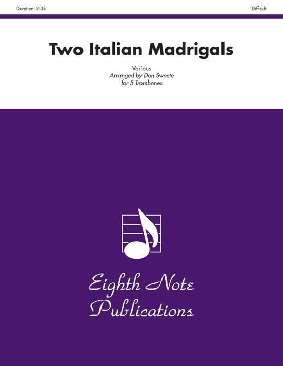 Two Italian Madrigals