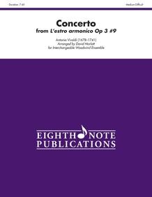 Concerto (from <i>L'estro armonico</i> Opus 3, No. 9)