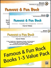 Famous & Fun Rock 1-3 (Value Pack)
