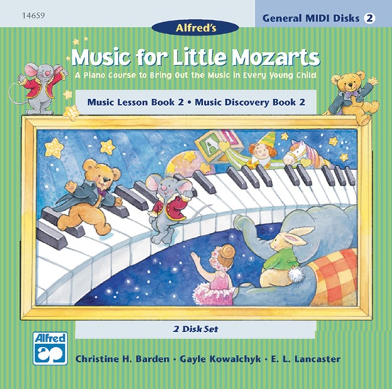 Music for Little Mozarts: GM 2-Disk Sets for Lesson and Discovery Books, Level 2