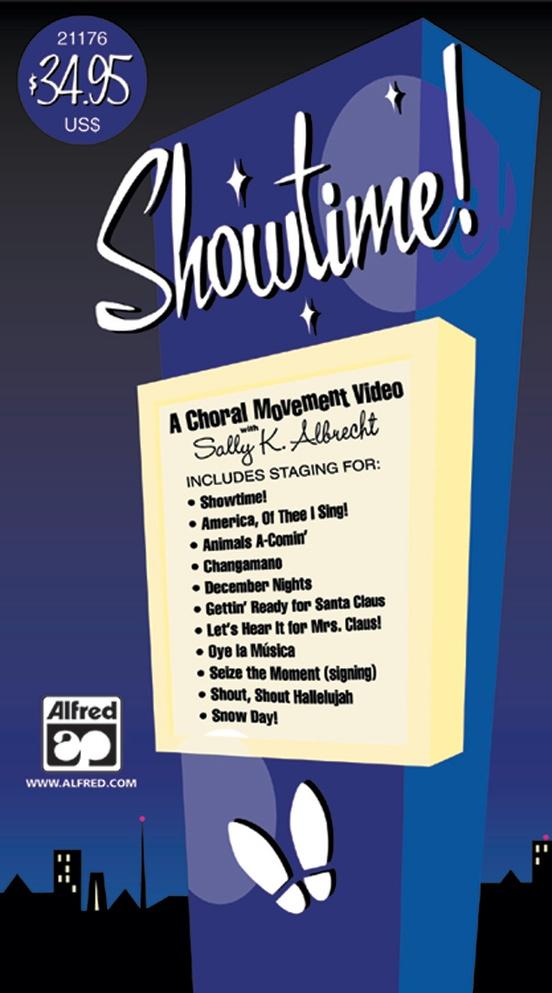 Showtime! A Choral Movement DVD