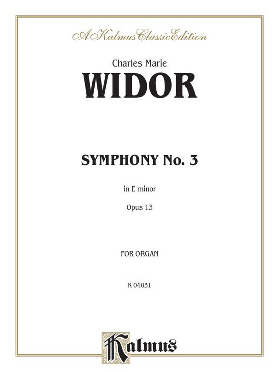 Symphony No. 3 in E Minor, Opus 13