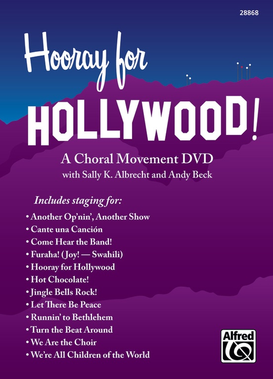 Hooray for Hollywood! A Choral Movement DVD