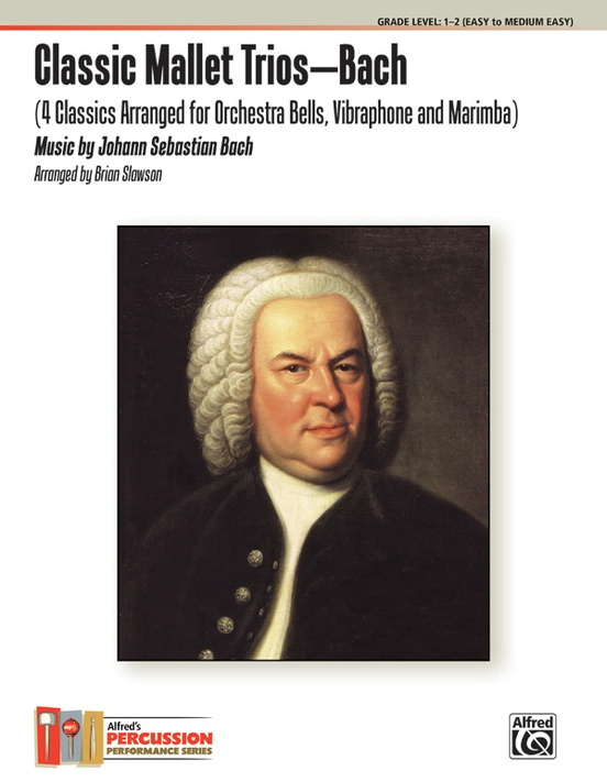 Classic Mallet Trios---Bach