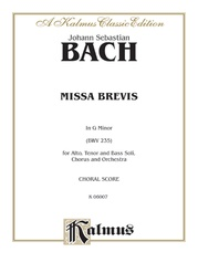 Missa Brevis in G Minor (BWV 235)
