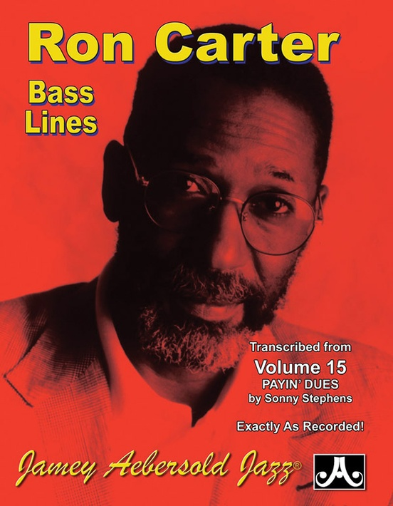 Ron Carter Bass Lines, Vol. 15