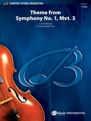 Theme from Symphony No. 1, Mvt. 3