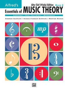 Alfred's Essentials of Music Theory: Book 2 Alto Clef (Viola) Edition