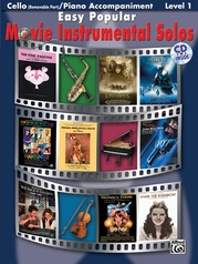 Easy Popular Movie Instrumental Solos for Strings