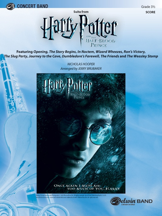 Harry Potter and the Half-Blood Prince, Suite from