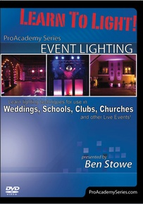 Learn to Light! Pro Academy Series: Event Lighting