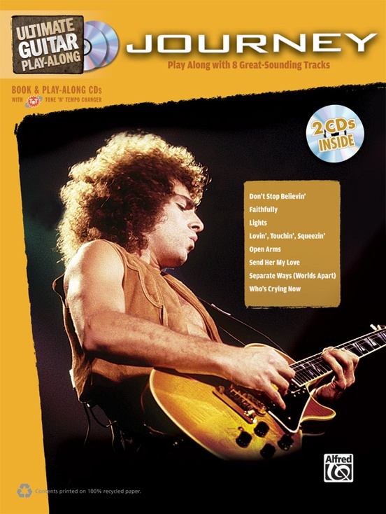 Ultimate Guitar Play-Along: Journey: Guitar Authentic Guitar TAB ...