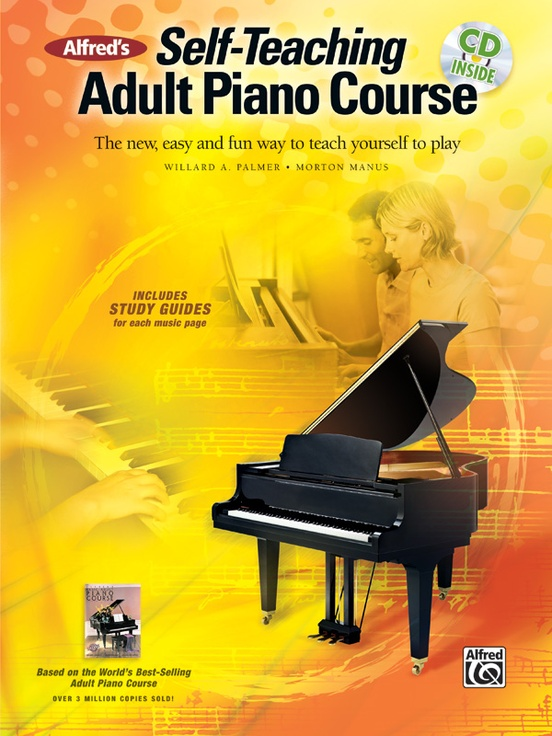 Alfreds Self Teaching Adult Piano Course Piano Book Cd