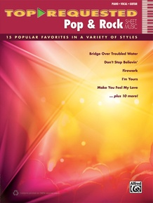Top-Requested Pop & Rock Sheet Music
