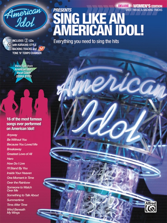 American Idol® Presents: Sing Like an American Idol! DELUXE Women's Edition